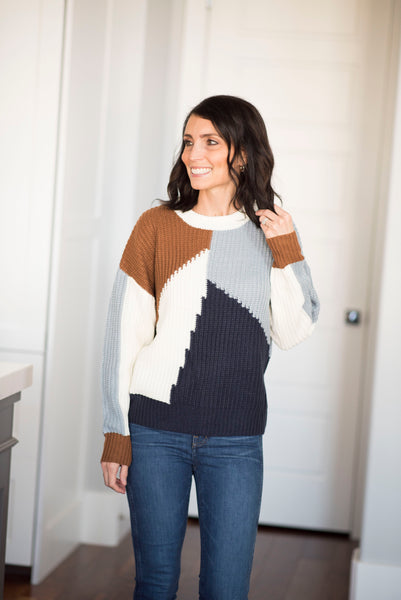 Niko Colorblock Sweater