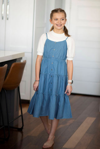 Chelsie Denim Dress
