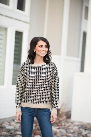 Jamey Patterned Sweater