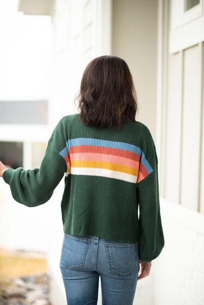 Flynn Stripe Sweater