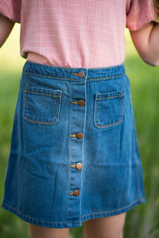 Jamee Denim Skirt