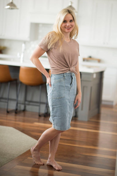 Chapman Denim Skirt