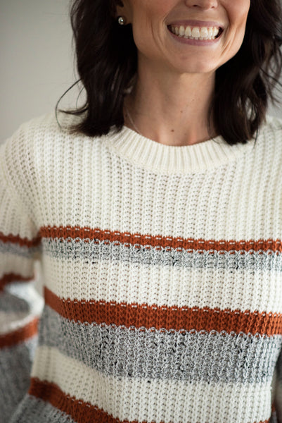 Melia Stripe Sweater