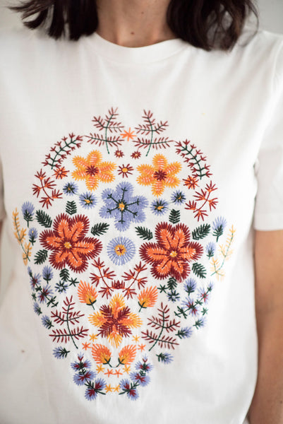 Cassidie Embroidered Top
