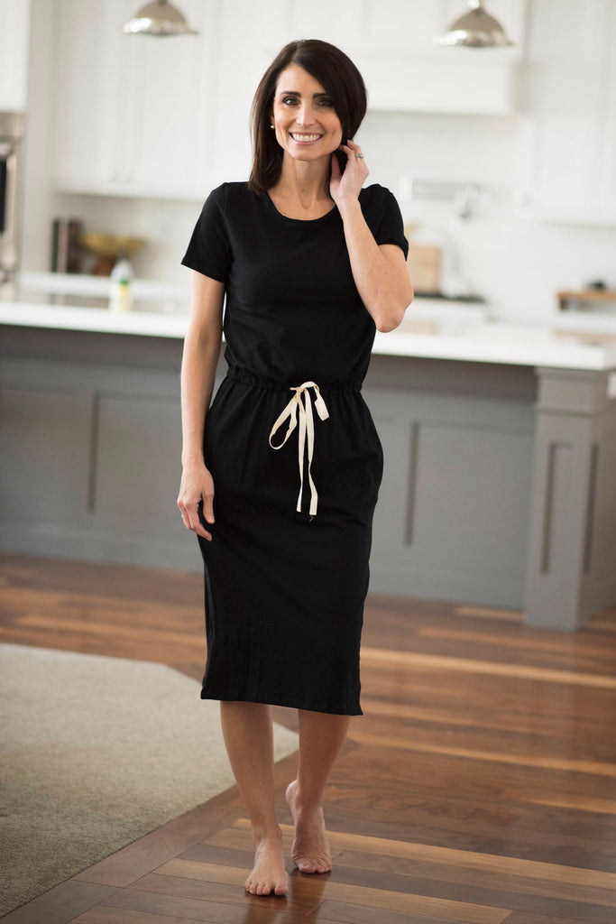 Calie Dress in Black