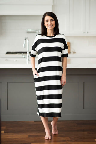 Nova Stripe Dress