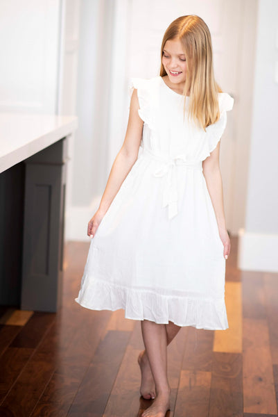 Hanna Dress in White