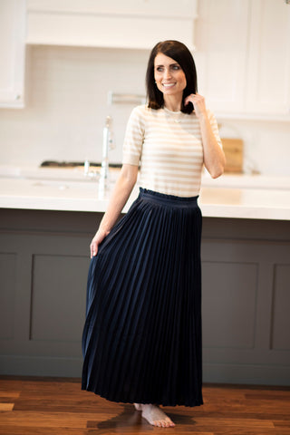 Rina Pleated Skirt