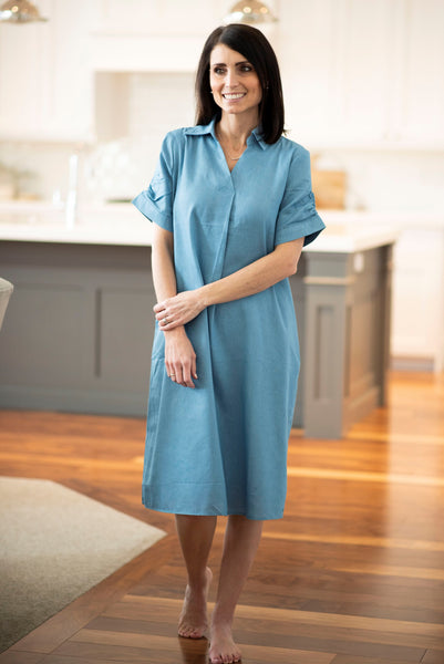 Ella Lightweight Denim Dress