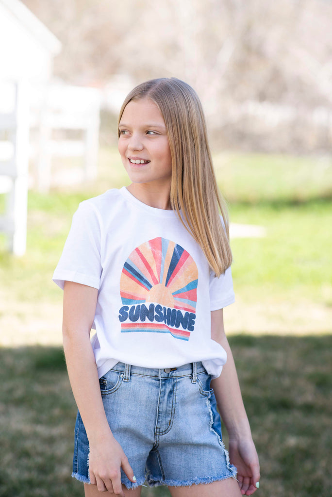 Sunshine Tee for Girls