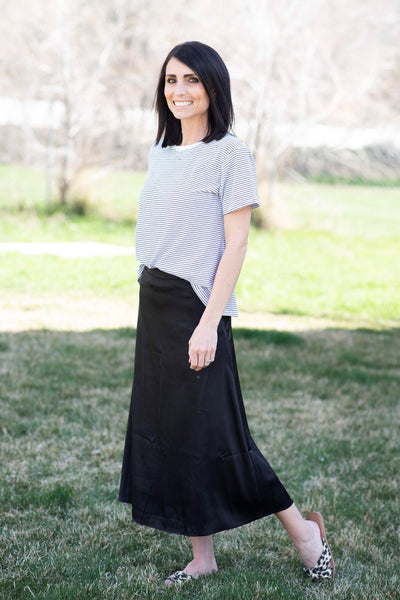 Jackie Skirt in Black