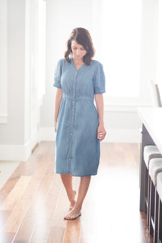 Janice Denim Dress