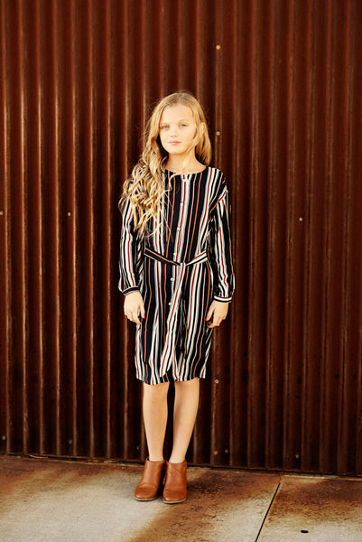 Estella Stripe Dress