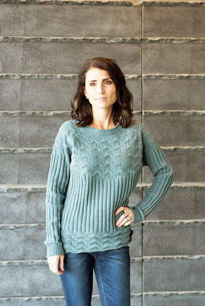 Becky Soft Textured Sweater