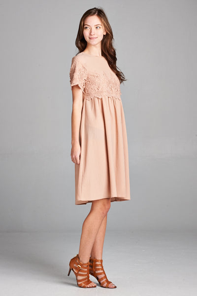 Brinley Lace Dress