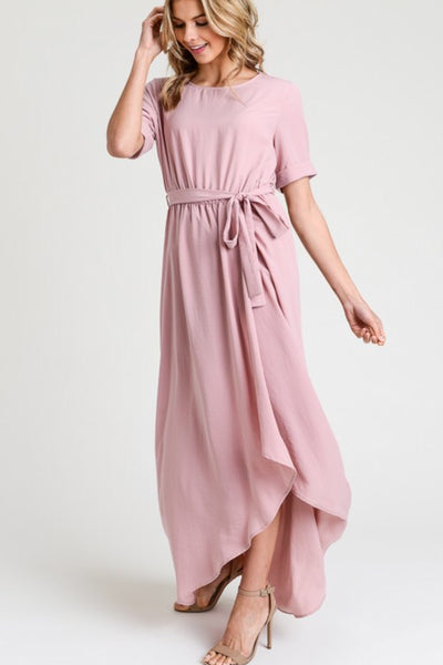 Belle Dress in Rose