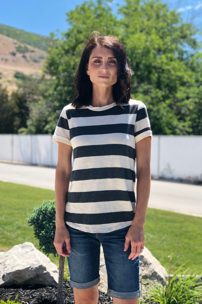 Mindy Stripe Tee