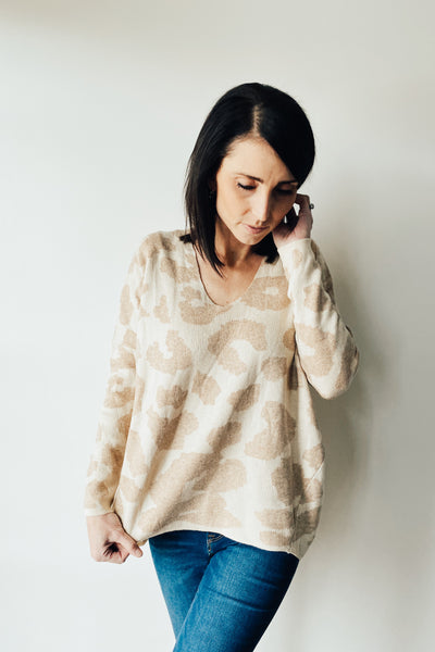 Elliott Leopard Sweater