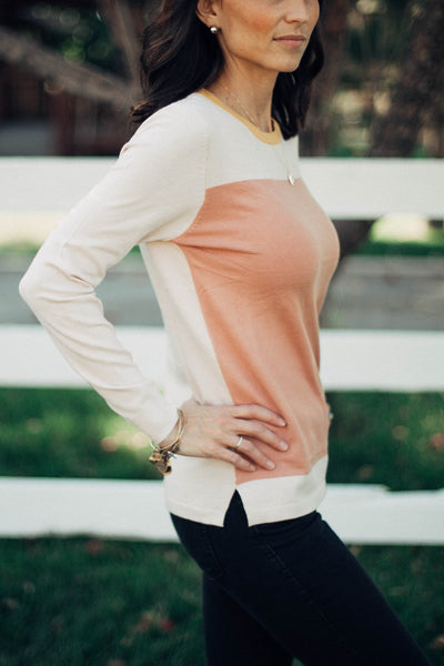 Lane Colorblock Sweater