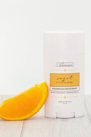 Just Ingredients Sweet Citrus Magnesium Deodorant - Local Pick Up Only