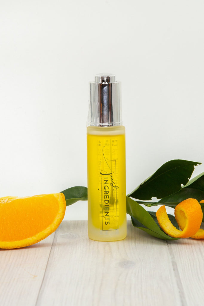 Just Ingredients Organic Sweet Citrus Serum 1 oz. - Local Pick Up Only