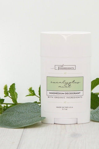 Just Ingredients Eucalyptus Mint Magnesium Deodorant- Local Pick Up Only
