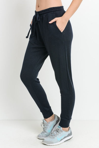 Joy Joggers in Black
