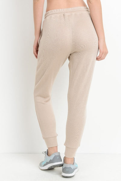 Joy Joggers in Natural