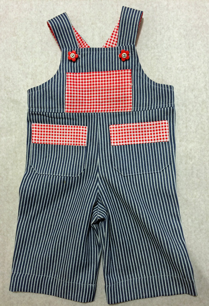 Cute Baby Boys Overalls/Shortalls OLLIE OVERALLS Sizes to fit 3+months to 4 years