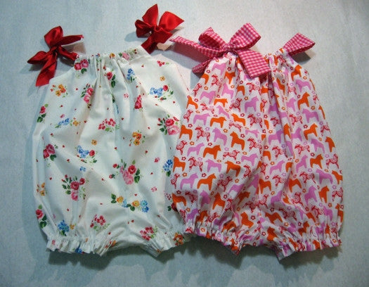 Pretty Baby Romper PDF Sewing Pattern.
