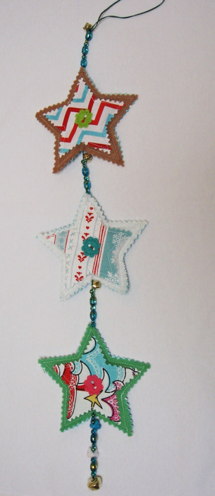 Z FREE PATTERN DOWNLOAD for Christmas Tree Decorations in 4 designs. - Felicity Sewing Patterns