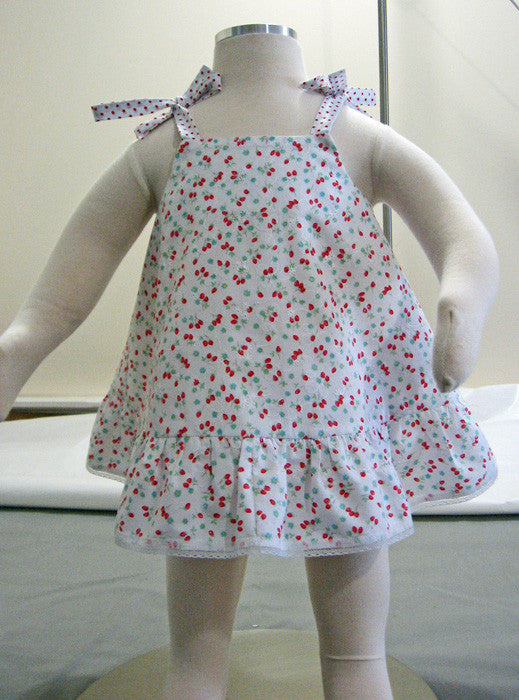 Ruffles Baby Top & Pants sewing pattern for babies & toddlers sizes 3 months to 6 years