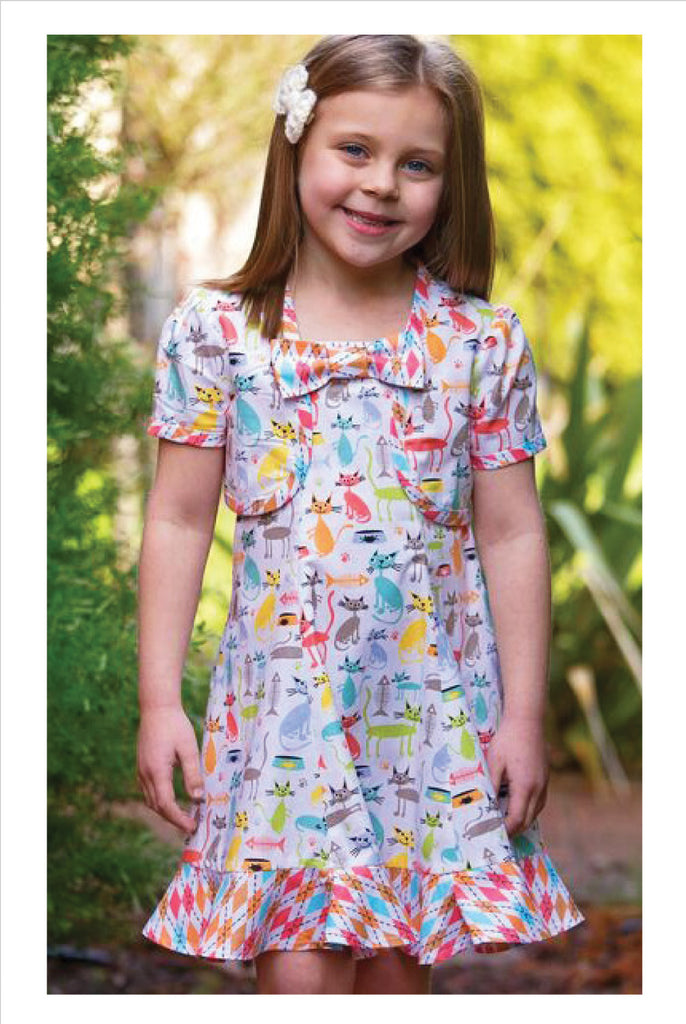 Felicity Sewing Patterns Carousel Sundress & Topper, girls dress and ...
