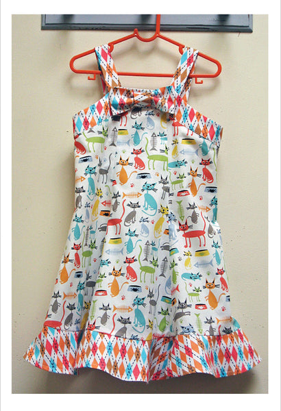 Delightful sundress and bolero sewing pattern by Felicity Patterns