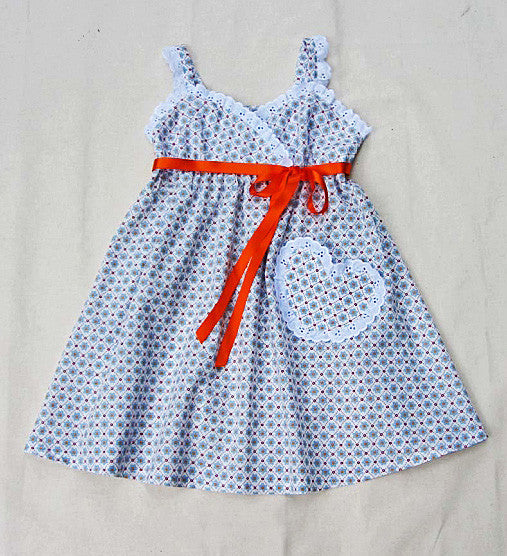 Felicity Sewing Patterns Girls Sundress Sewing Pattern Little Cup
