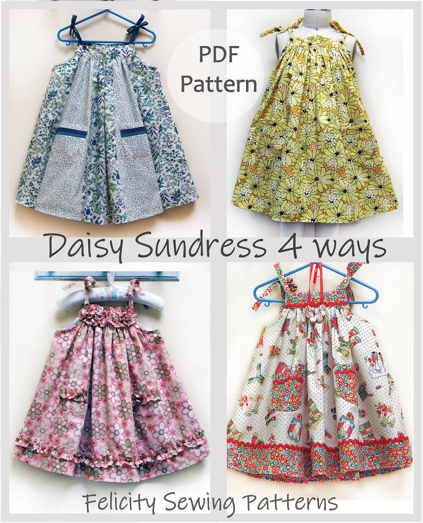 1d9f8adc6366 Felicity Sewing Patterns Daisy Sundress PDF Sewing Pattern and ...