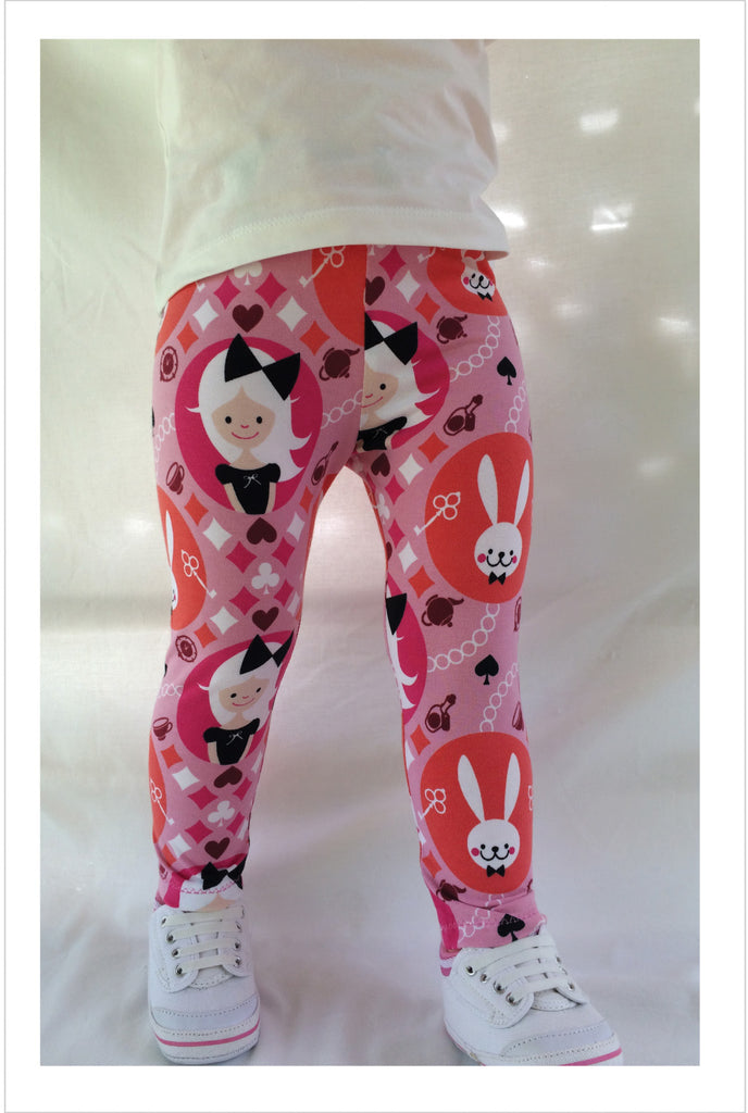 Stretch Children's Leggings sewing pattern sizes 1 - 12 years, for boys and girls. - Felicity Sewing Patterns
