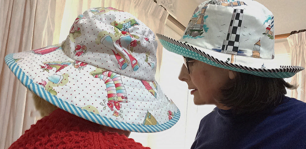Reversible Sun Hat for Adults and Kids - Felicity Sewing Patterns