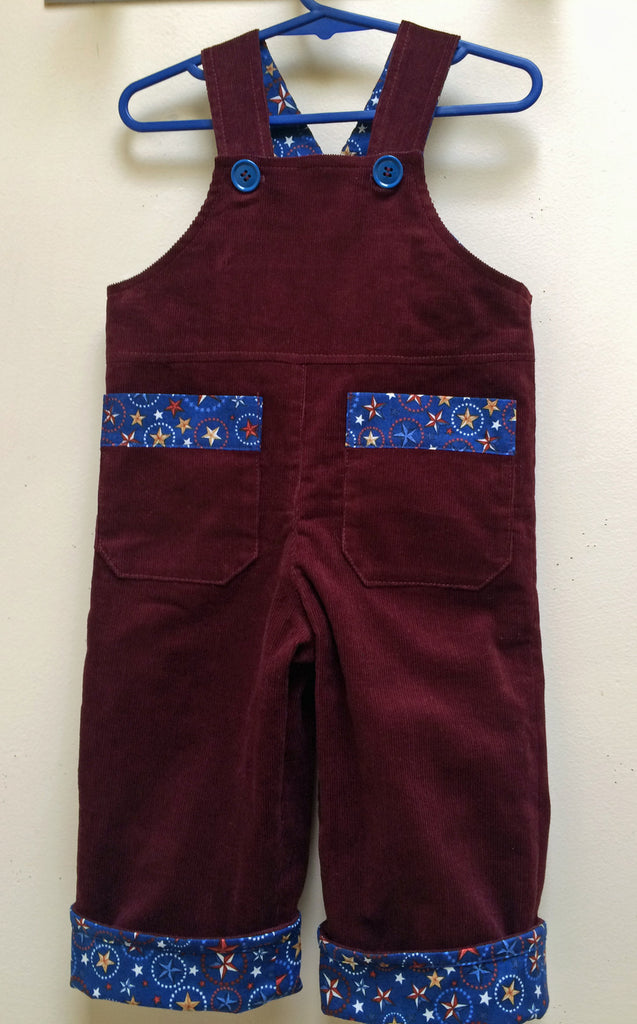 Overalls/Shortalls pdf sewing pattern OLLIE OVERALLS Sizes to fit 3+months to 4 years - Felicity Sewing Patterns