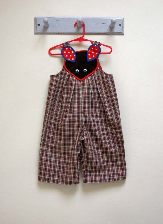 Baby Boy's Sewing Pattern for Overalls/Romper sizes 9 months to 4 years. - Felicity Sewing Patterns
