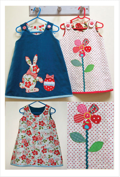 Felicity Patterns girl's dress pdf sewing pattern