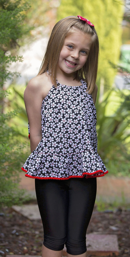 pdf sewing pattern for girls summer top
