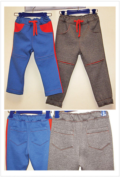 sewing pattern for boys sweat pants by Felicity Patterns