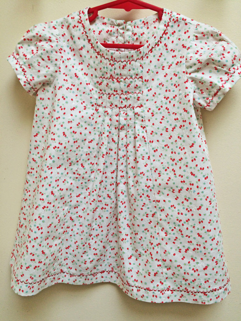 Baby and Toddler dress PDF sewing pattern Shelley Dress & Blouse sizes 3-6 months to 8 years. - Felicity Sewing Patterns