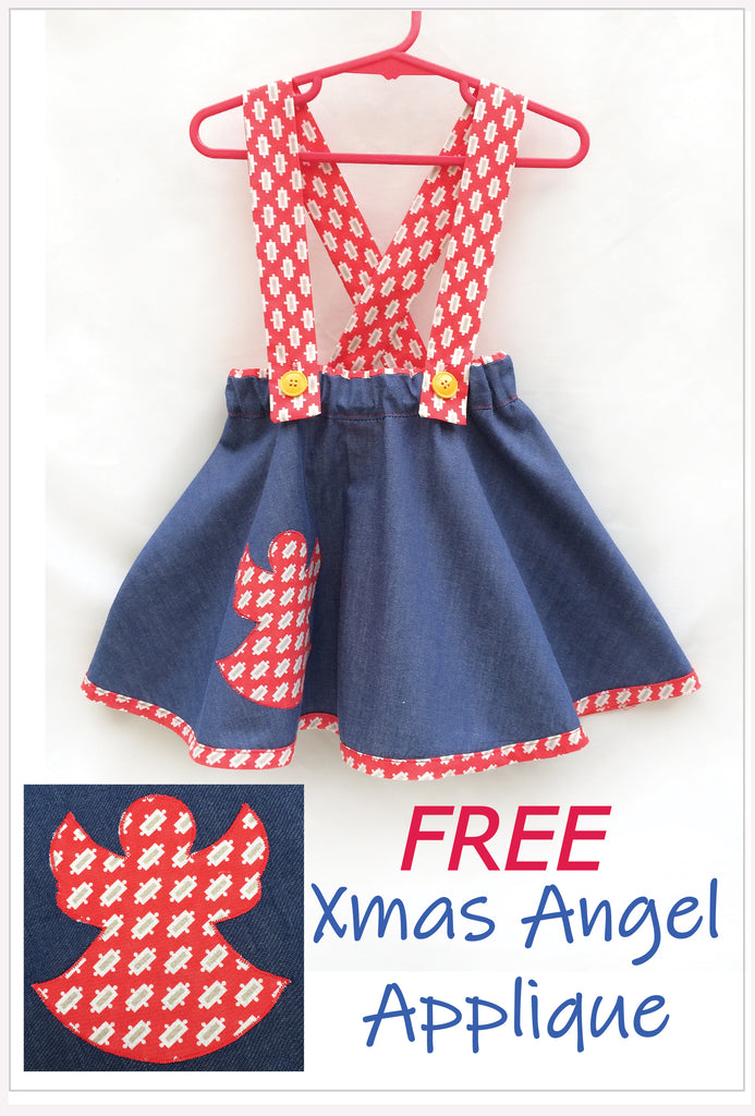 Z Xmas Angel Applique Free download. - Felicity Sewing Patterns