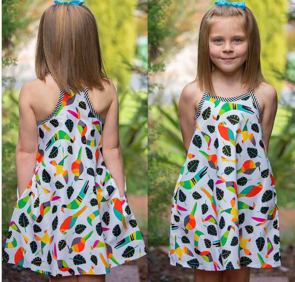 Girls dress pattern Rio Top & Dress