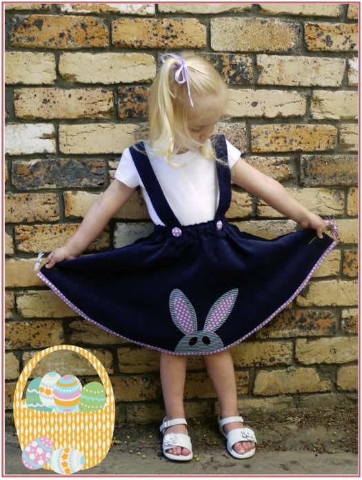 The Topsy Twirly Skirt for girls 12 months to 12 years girls pdf sewing pattern