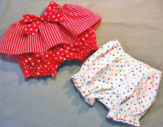 Diaper Cover Bloomers Baby Pants Sewing Pattern Fancy