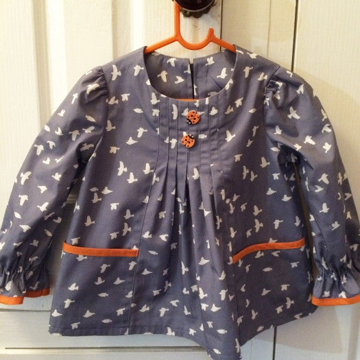SALE COUPON! Baby & girl's dress/top PDF sewing pattern Shelley Dress & Blouse sizes 3-6 months to 8 years. - Felicity Sewing Patterns
