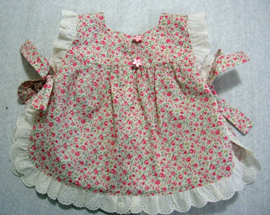 ISABELLE BABY SET baby girl sewing pattern back view